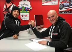 Il Team Motocorsa Racing rinnova l'accordo con Lorenzo Zanetti