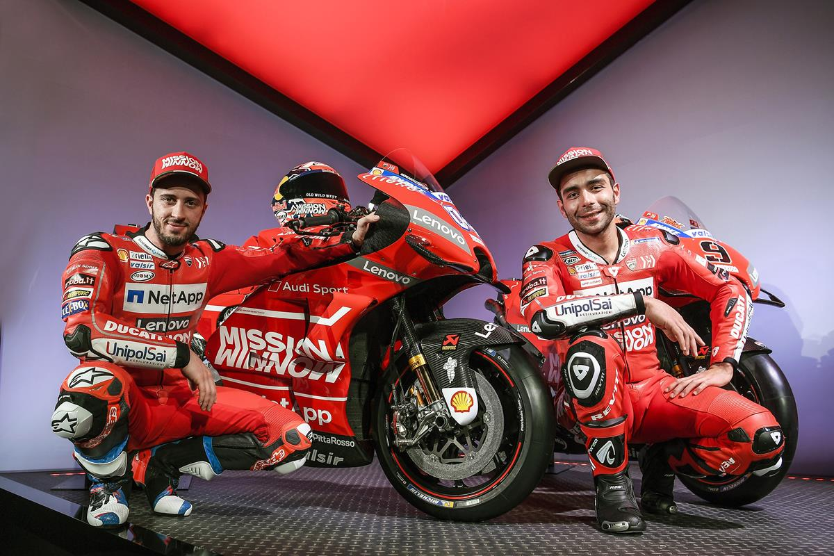 Così Ducati nella MotoGP 2019 - image Ducati_2 on https://moto.motori.net